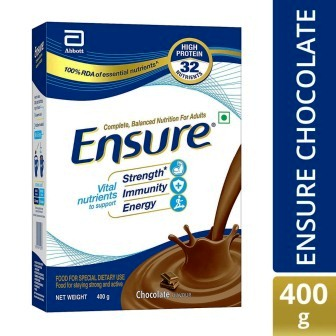ENSURE CHOCOLATE REFILL PACK - 400 GM