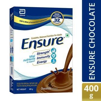 ENSURE CHOCOLATE REFILL PACK - 400 GM