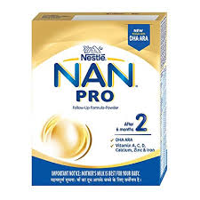 NESTLE NAN PRO 2 FOLLOW UP FORMULA - 400 GM PKT