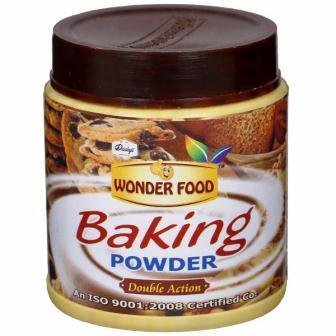 WONDER FOOD BAKING POWDER - 50 GM
