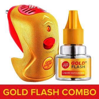 GOOD KNIGHT GOLD FLASH MACHINE PLUS REFILL - 1 PC