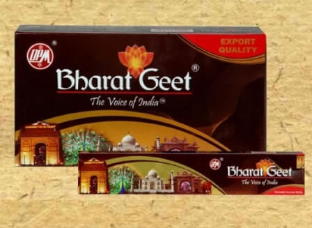 BHARAT GEET INCENSE STICK - AGARBATTI - DHUPKATHI - 1 PKT