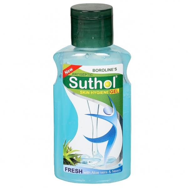 BOROLINE SUTHOL ANTISEPTIC SKIN FRESH GEL - 100 ML