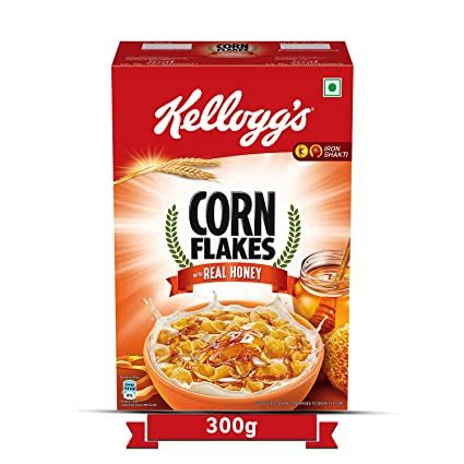 KELLOGGS CORN FLAKES REAL HONEY - 300 GM