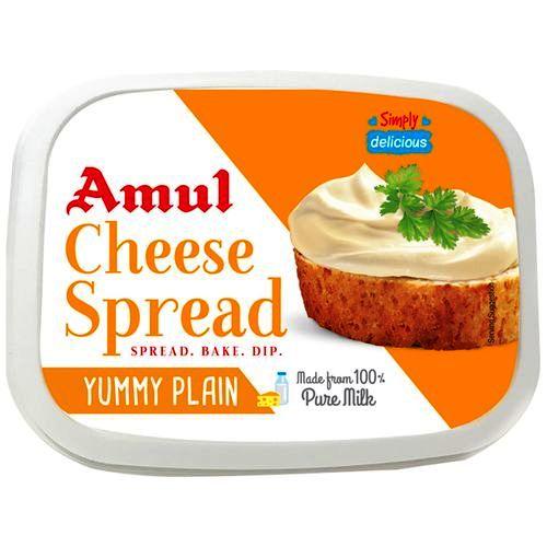 AMUL CHEESE SPREAD - 200 GM