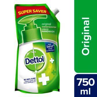DETTOL ORIGINAL HAND WASH VALUE REFILL PACK (GREEN) - 750 ML